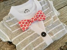 Little Girls Cardigan Set | Coming Home Outfit | Trendy Baby Clothes | Bow Tie Onesie | Preppy Baby Clothes | Short Sleeve Grey and White Cardigan Set by Izzy  Isla #baby
