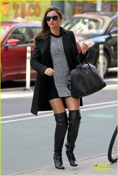 Miranda Kerr: Monday Morning in Manhattan!