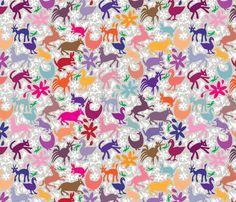 Mexico Springtime: United Love fabric by sammyk on Spoonflower - custom fabric