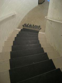 painted carpet stair runner