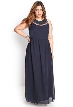 Beaded Maxi Dress #F21Plus