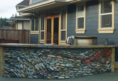 decor, idea, stone work, outdoor kitchens, rock art, stones, rocks, outdoor rock, ancient art