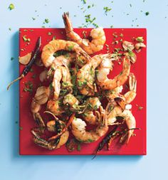 Chile-Garlic Shrimp: easy week night dinner