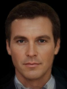 "The ""real"" Bruce Wayne. A photo-composite of Adam West, Michael Keaton, Val Kilmer, George Clooney, and Christian Bale. CREEPY!"