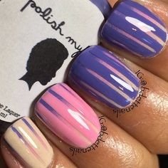 faded stripes