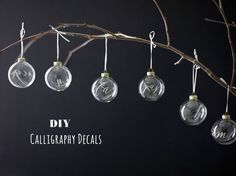 calligraphy ornaments