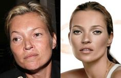 galleries, lighting, light makeup, before and after photoshop, makeup artist studios, beauti, kate moss, supermodels