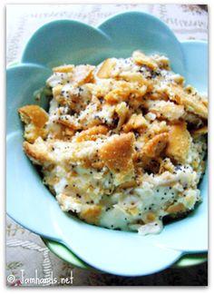 Chicken Poppy Seed Casserole #casserole #recipe