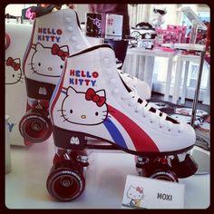 Hello Kitty Roller Skates (O_o)