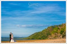 Serena and Jason enjoyed the perfect weather at their destination wedding  #kingfisherbay #fraserisland #destinationwedding #fraserislandwedding #fraserwedding http://www.fraserislandweddings.com.au/