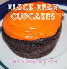 The Philosopher's Wife: Black Bean Cupcakes bean cupcak, black bean