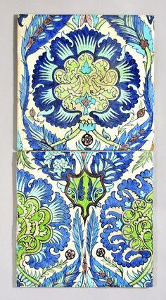William De Morgan Persian tiles