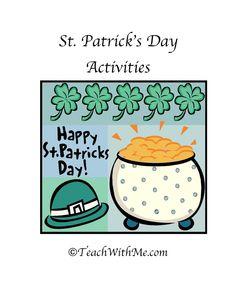 Classroom Freebies: St. Patrick's Day Activities
