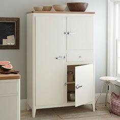 Cabin Kitchen Armoire - White #westelm
