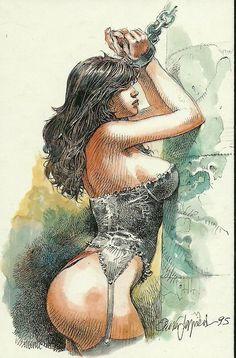 Druuna - Serpieri draw, hedon, 0006, biglust, comic, art, erotik, erotiqu, druuna