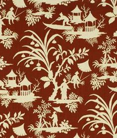 Robert Allen Crystal Lake Lacquer Fabric