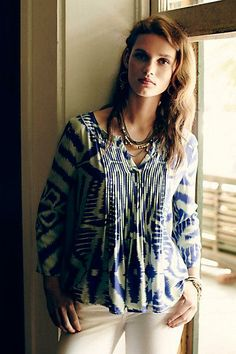 #Mahdia #Peasant #Top #Anthropologie
