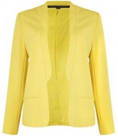 moda inverno, fashion hous, yellow blazer