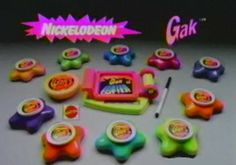 Best Toys of the 1990s - dude i remember Gak wow