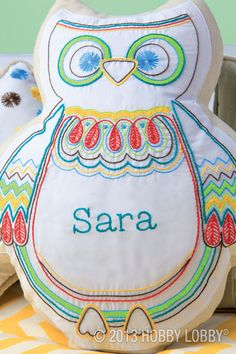 Needlework is a hoot with this adorable owl project!