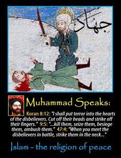 Islam, the religion of peace.