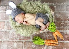 OH! Baby Graham is going to be our little Easter Bunny, he needs a picture like this!!!