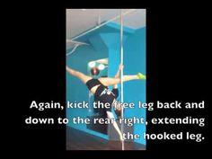 Two Minute Tutorial - Marion Amber  #poledance #poletricks