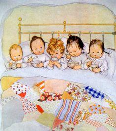 Susan B. Pearce (1878-1980) British Illustrator- 1920s AMELIARANNE Bedtime Goodnight