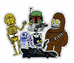 Star Wars Dia De Los Muertos