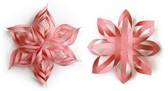 DIY: Paper snowflakes