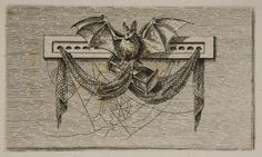 Ferdinand Kobell, Bat, 18th century, Harvard Art Museums/Fogg Museum