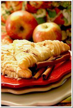 Easy Caramel Apple & Pumpkin Turnovers