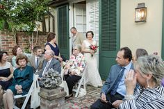 New Orleans weddings at the Audubon Cottages - French Quarter - www.auduboncottages.com New Orleans Elopement Photographer Pamela Reed
