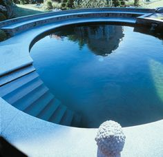 natur swim, swimming pools, sandston design, swim pool, stair design