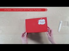 Paper Pumpkin Decemb