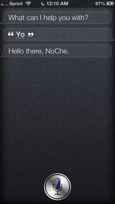 Siri knows slang...