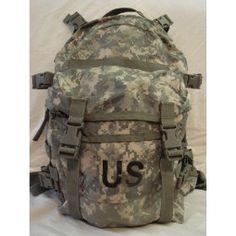 US Military Surplus ACU Large MOLLE Assault Pack BackPack
