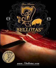 Jamón 7 Bellotas ®™ el ibérico de Bellota http://7bellotas.com/ pata negra  #Jamones #alimentacion #embutidos #gastronomia