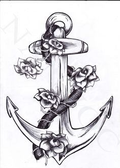 A better picture of the type of tattoo I want with my grandparents birth flowers on it. Both Navy Veterans.