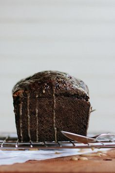chocolate coffee cardamom bread.