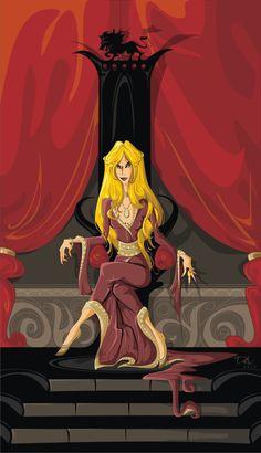 Cersei Lannister ~dejan-delic #agot #got #asoiaf