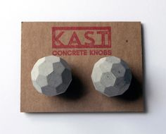 Kast Concrete Cabinet and Drawer Knobs