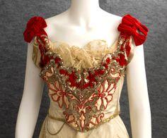 vintag textil, ball gowns, vintage textiles