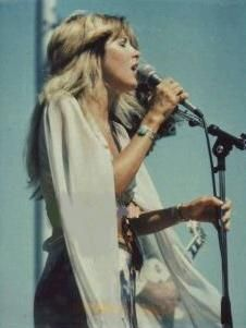 Stevie ...never change & don't you ever start... Stevie through the years has always maintained her own sense of style & inspiration. Yet, still fascinating to this day...