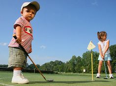 Golf Classes for Kids Starting at the Woodlands Country Club