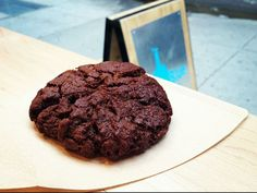 @Serious Eats loves Blue Bottle Coffee's Double-Chocolate Cookie. Good thing the recipe will be in their book, out October!