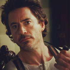 ♡♡ RDJ as Sherlock Holmes