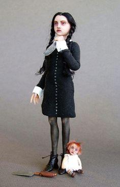 Wednesday Addams doll.