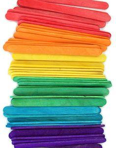 Standard Craft Sticks -Multi Color Pack