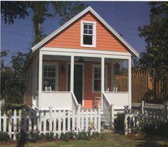 Cottage plans on pinterest detached garage house plans for Prefab mother in law cottage